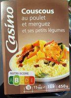 Couscous au poulet et merguez - Product