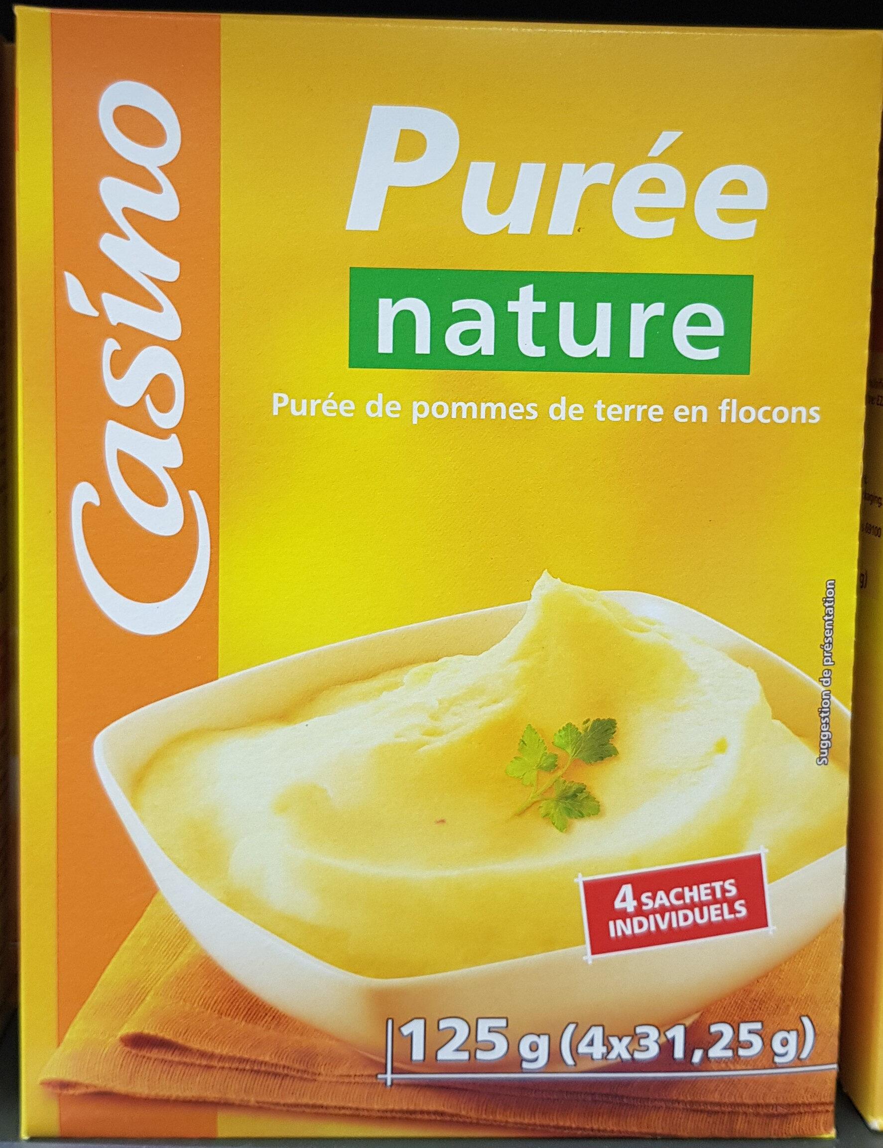 Purée nature - Purée de pommes de terre en flocons - Produit - fr