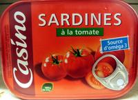 Sardines à la sauce tomate - Produit - fr