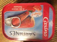 Sardines à la sauce tomate - Ingrédients - fr
