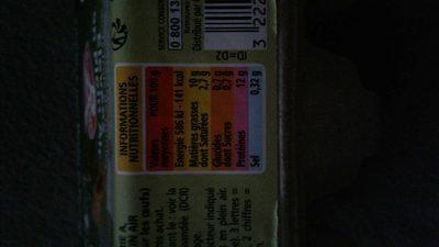 6 Oeufs frais de poules élevées en plein air - gros - 2