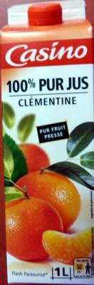 100% Pur Jus Clémentine Flash pasteurisé - Naturellement riche en vitamine C - Product