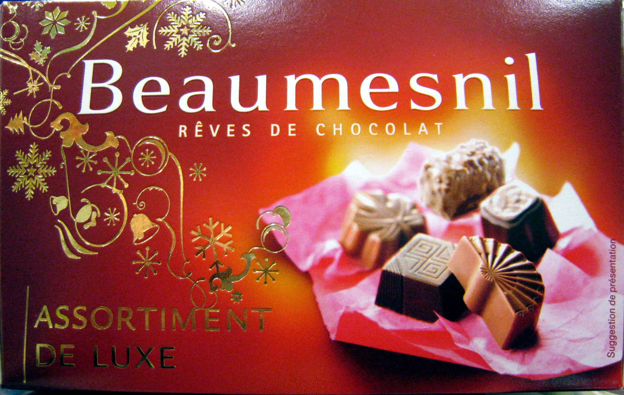 Rêves de chocolat Assortiment de luxe Beaumesnil - Produit