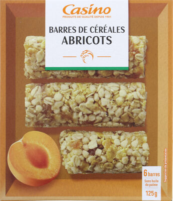 Barres céréales abricot - Product - fr