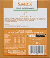 Barres céréales abricot - Nutrition facts