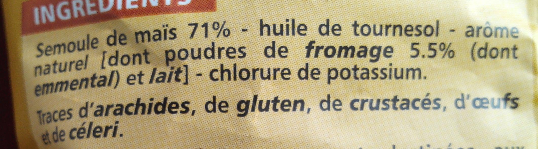 Croustillants goût Emmental - Ingredients - fr