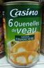 Quenelles de veau sauce financière - Produit