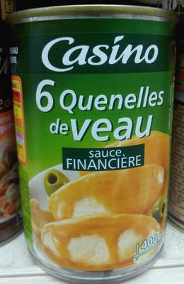 Quenelles de veau sauce financière - Produit - fr