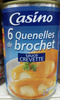Quenelles de brochet sauce crevette - Product