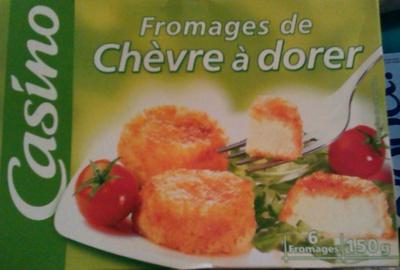 Fromages de chèvre à dorer - Produit - fr