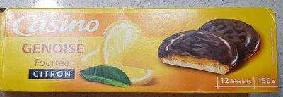 Génoise Fourrée Citron - Product
