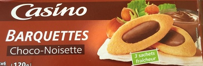 Barquettes Choco-Noisette - Product