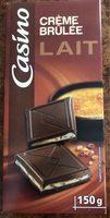Chocolat supérieur Lait fourrage Crème Brulée - Produit
