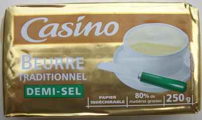 Beurre traditionnel demi-sel - Produit - fr