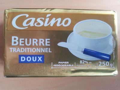 Beurre Traditionnel Doux - Produit