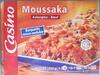 Moussaka (Aubergine - Bœuf), Surgelée - Produit