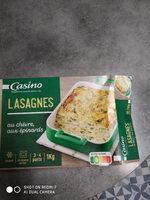 Lasagne chèvre épinards - Produit - fr