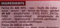 Maxi format Spécial sandwich - Ingrédients - fr