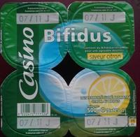 Lait fermenté au Bifidus* saveur citron - 产品 - fr