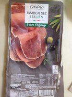 Jambon sec italien 6 tranches - Product