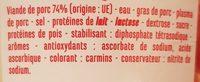 Mini Knacks - Ingredients