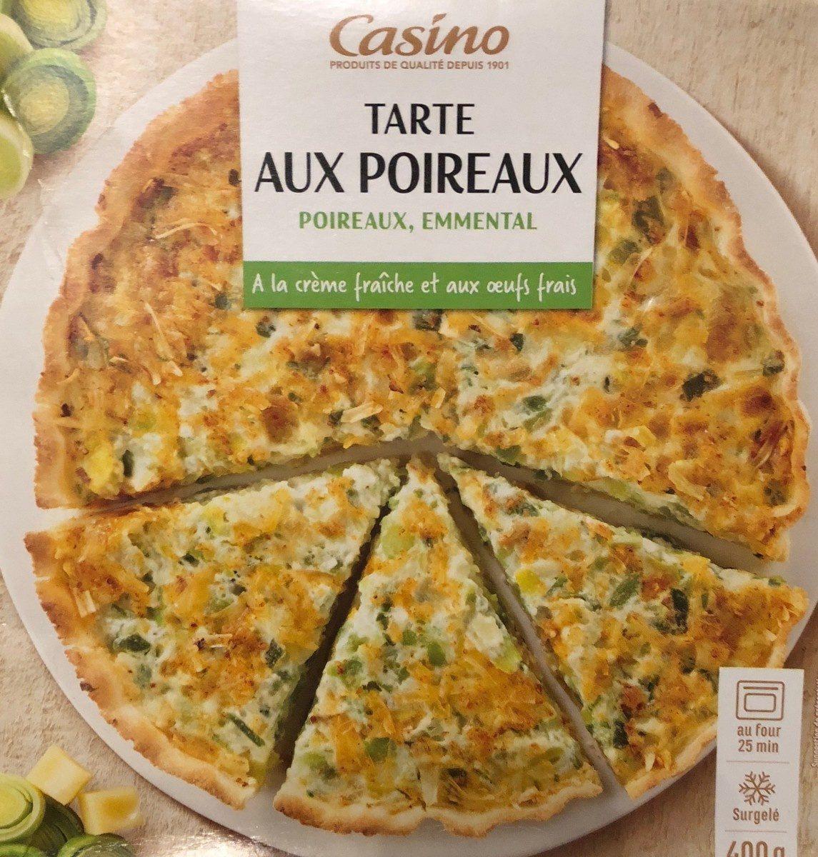 Tarte aux Poireaux - Produit
