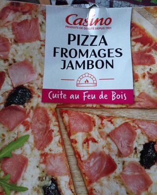 Pizza Fromages jambon cuite au feu de bois - Product