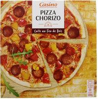 Pizza Chorizo cuite au feu de bois - Product
