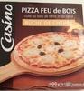 Pizza Bûche de chèvre cuite au feu de bois - Product