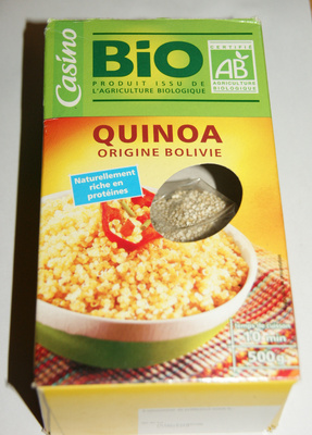 Quinoa origine Bolivie - Product