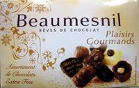 Rêves de chocolat Plaisirs Gourmands Beaumesnil - Produit