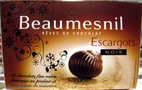 Rêves de chocolat Escargots noir Beaumesnil - Produit
