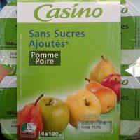 Sans sucres ajoutés* Pomme Poire - Produkt - fr