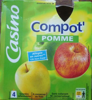 Gourde de compote Pommes - Produkt