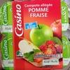 Compote allégée Pomme Fraise - Produit