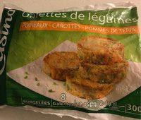Galettes de légumes Poireaux - carottes - pommes de terre - Product