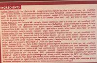 Feuilletés Saumon - Pizza - Jambon - Fromages - Ingredients