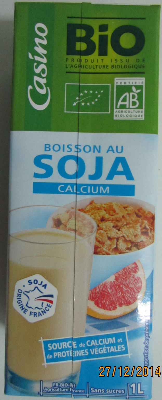 Boisson au soja calcium BIO - Product