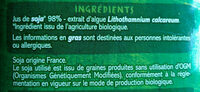 Boisson au soja calcium BIO - Ingredienti - fr