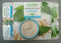 Spécialité au soja nature source de calcium - Produit