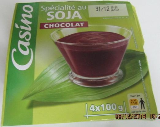 Spécialité au soja chocolat source de calcium - Produit - fr
