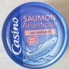 Saumon Atlantique au naturel sans peau - Product