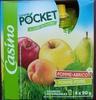 Compote pocket Pomme-Abricot / Pomme-Poire - Product
