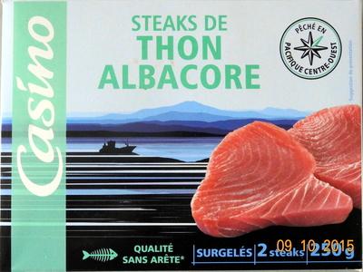 Steaks de Thon Albacore - Produit