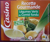 Recette gourmande Légumes verts au Comté fondu - Produit