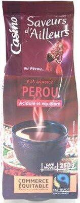 Café moulu pur arabica Pérou 250g - Product - fr