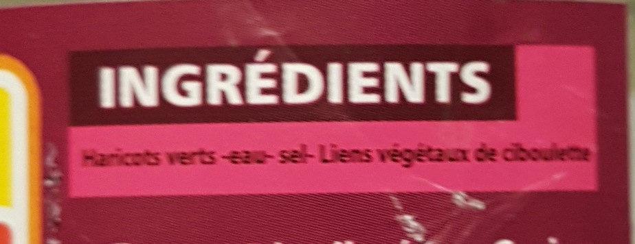 5 Fagots de haricots verts cueillis et rangés main - extra-fins - Ingrédients - fr