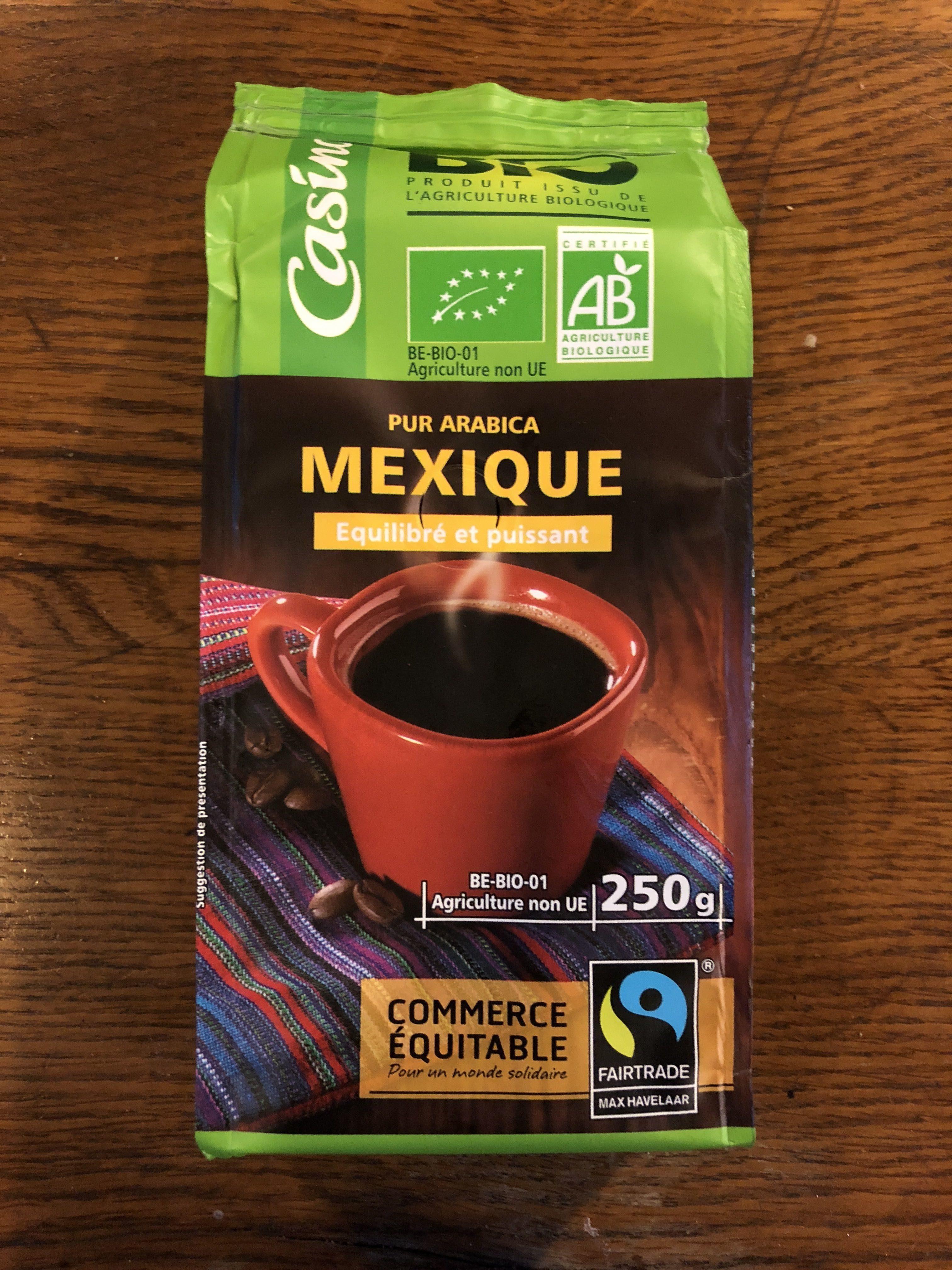 Café Mexique Pur Arabica moulu - Product - fr
