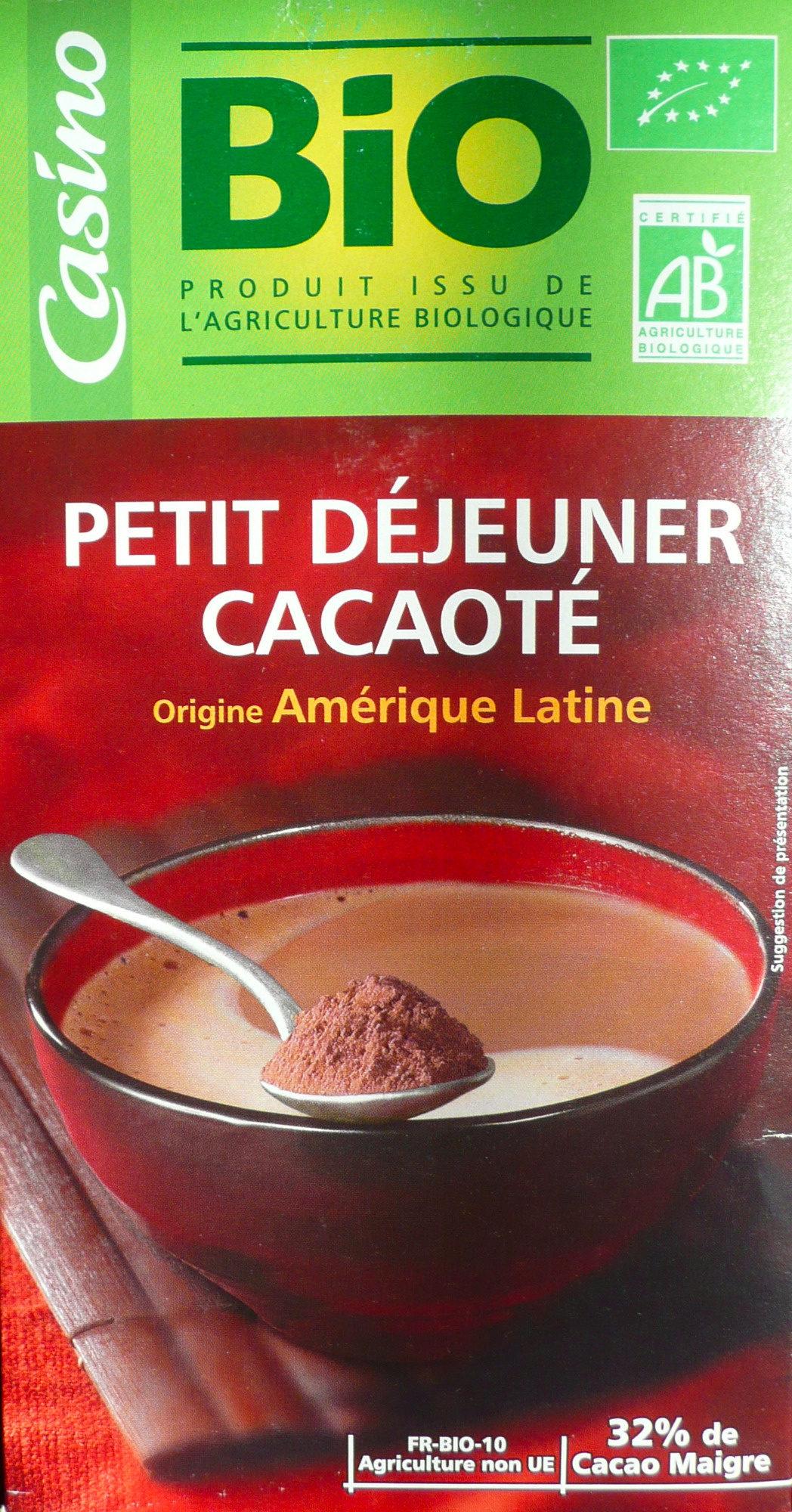 Petit déjeuner cacaoté - origine Amérique Latine - Product - fr