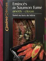 Emincés de saumon fumé aneth citron - Prodotto - fr